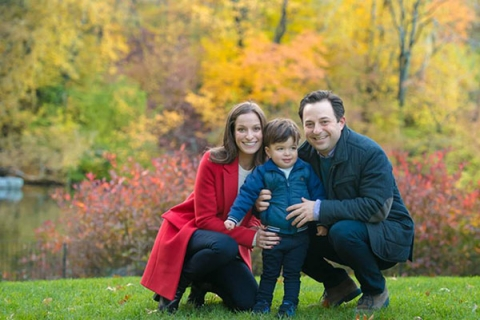Family Portraits in Central Park