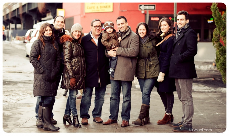 Extended family portraits NYC, Long Island, Westchester